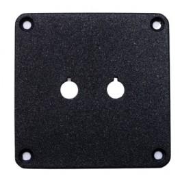 Binding Post Plate - Single Powder Coated.